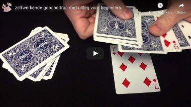 Kaarttruc voor beginners - 20 kaarten