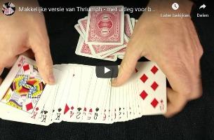 Kaarttruc zonder manipulatie - Thriumph