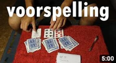 Voorspelling - 3 kaarttrucs